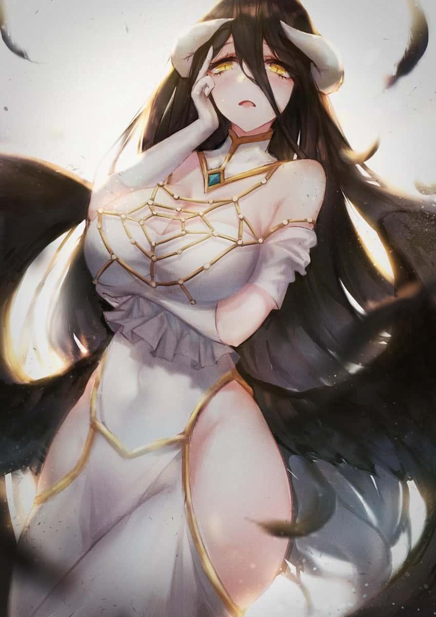 albedo overlord378 - 【オーバーロード】アルベドのエロ画像:イラスト その11
