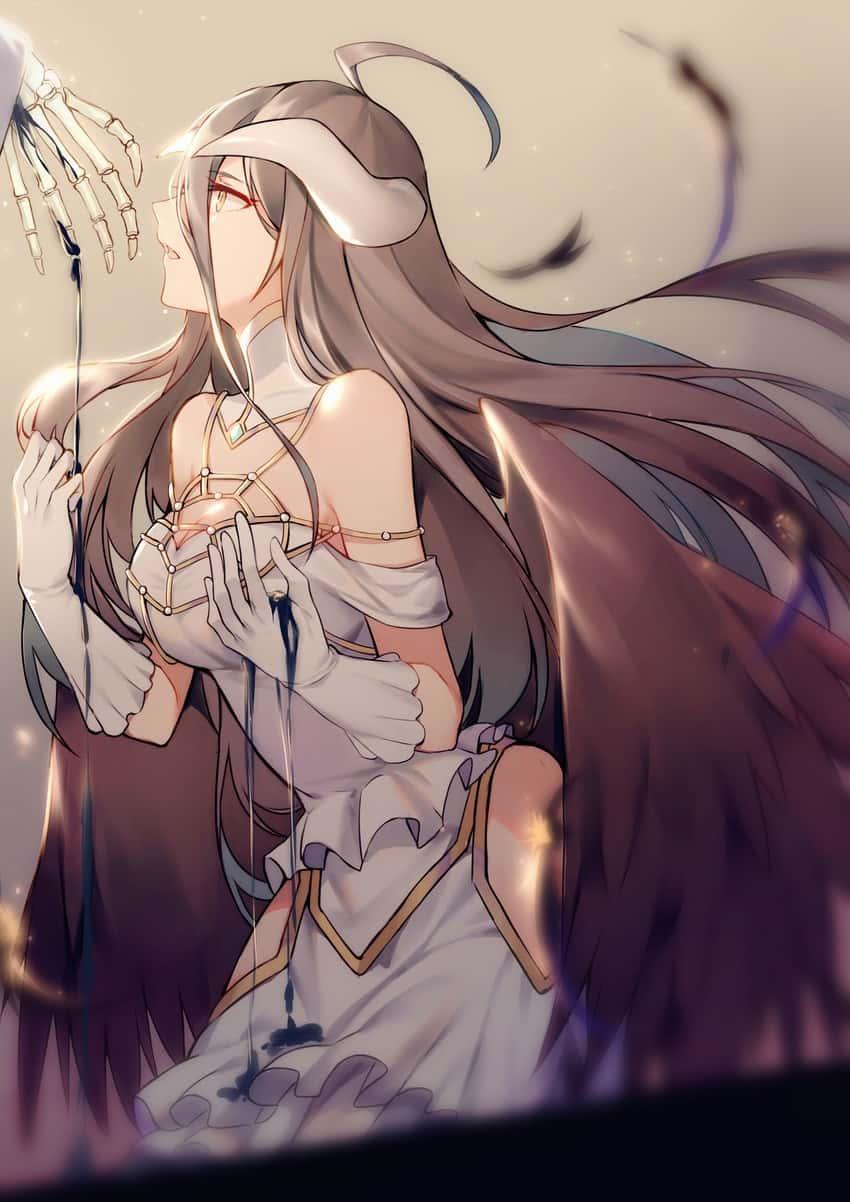 albedo overlord38 - 【オーバーロード】アルベドのエロ画像:イラスト