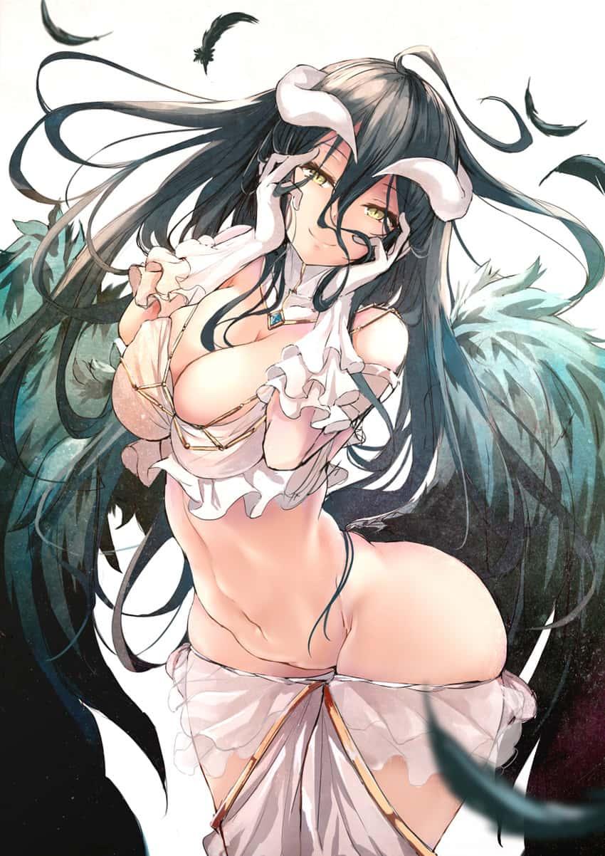 albedo overlord384 - 【オーバーロード】アルベドのエロ画像:イラスト その11