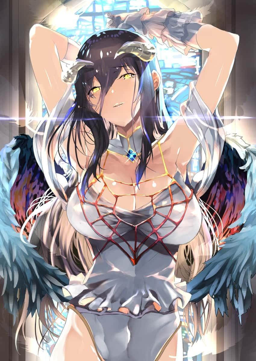 albedo overlord386 - 【オーバーロード】アルベドのエロ画像:イラスト その11
