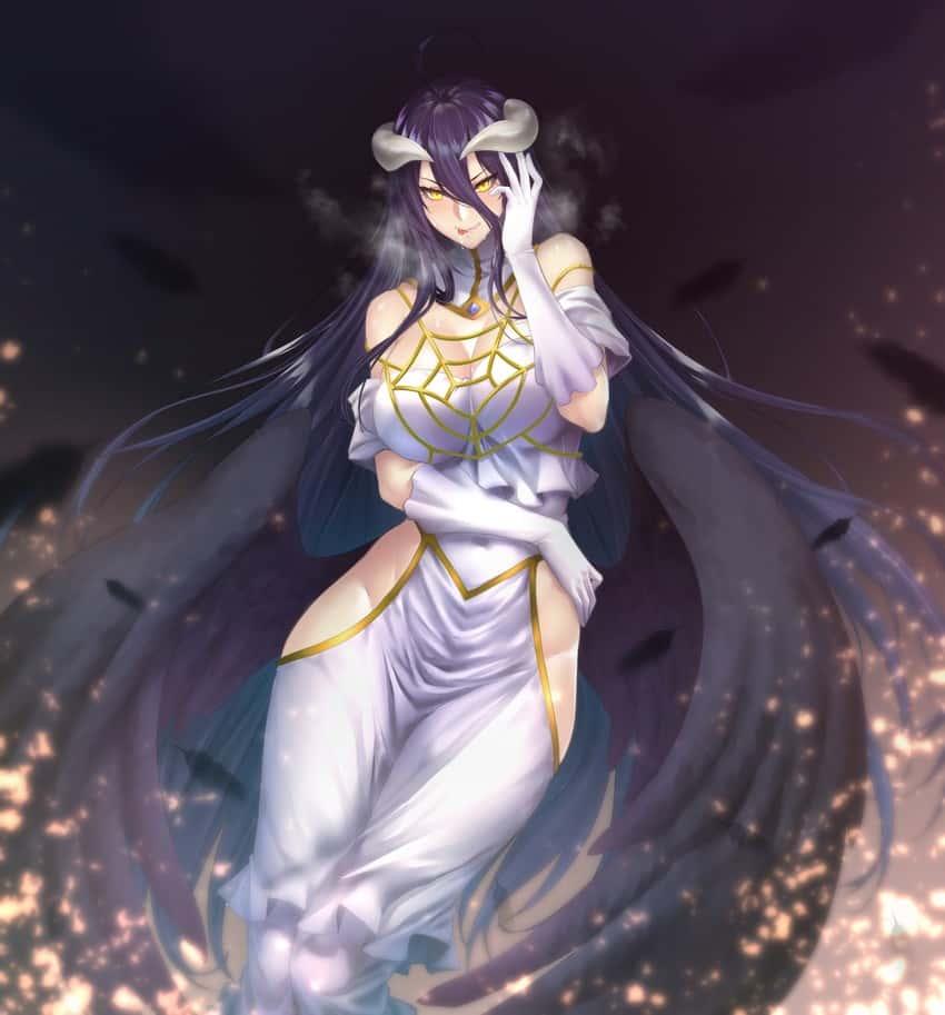 albedo overlord389 - 【オーバーロード】アルベドのエロ画像:イラスト その11