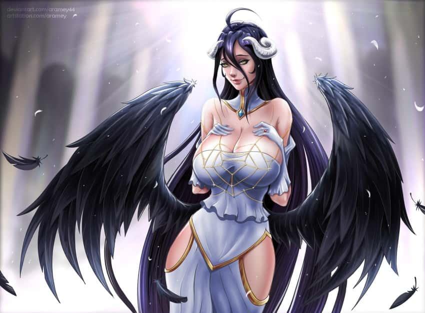albedo overlord79 - 【オーバーロード】アルベドのエロ画像:イラスト その3