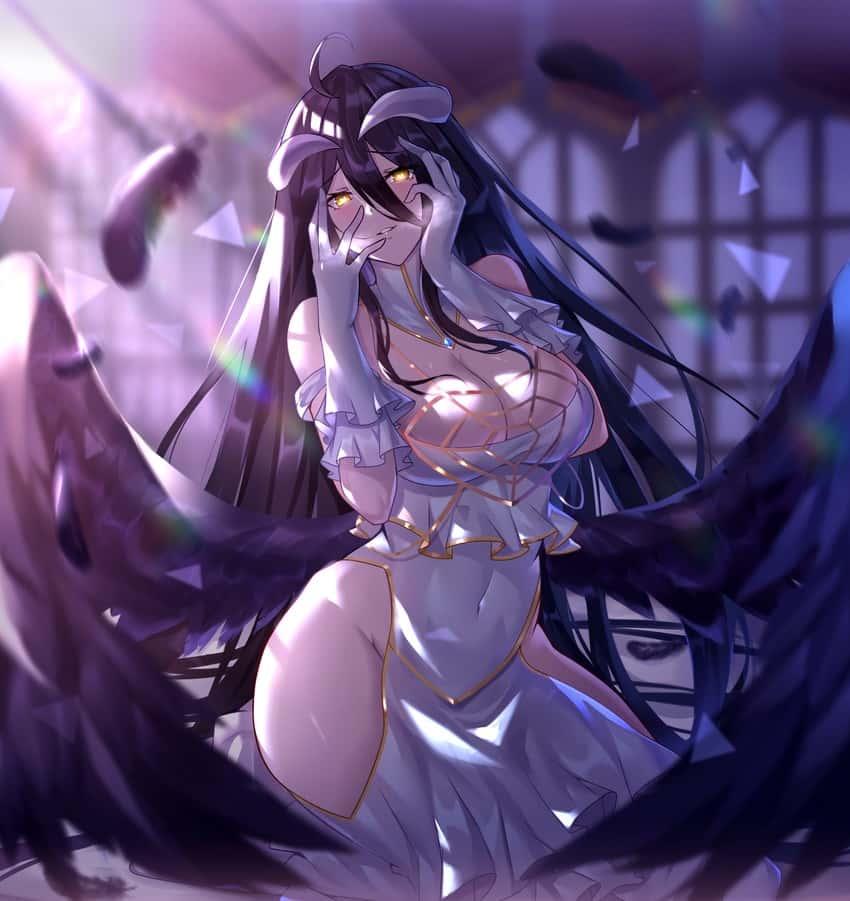 albedo overlord90 - 【オーバーロード】アルベドのエロ画像:イラスト その3