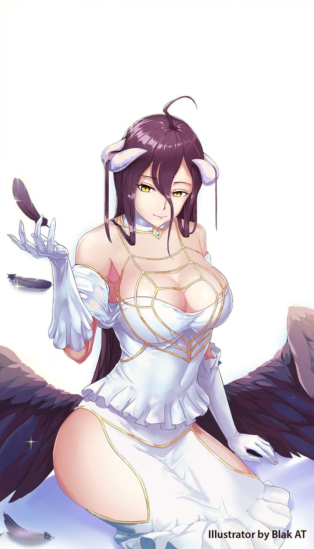 albedo overlord92 - 【オーバーロード】アルベドのエロ画像:イラスト その3