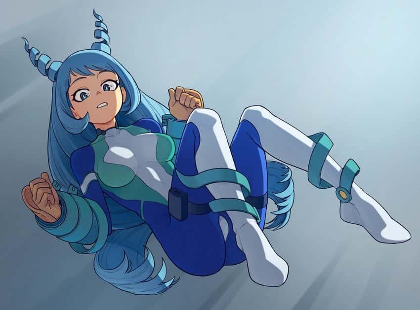 hadou nejire boku no hero academia105 - 【僕のヒーローアカデミア】波動ねじれちゃんのエロ画像:イラスト その3