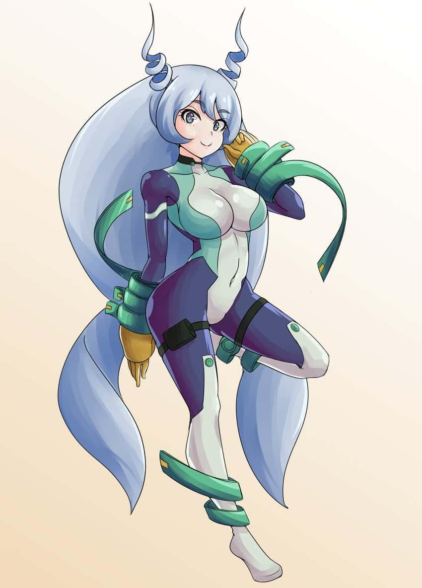 hadou nejire boku no hero academia48 - 【僕のヒーローアカデミア】波動ねじれちゃんのエロ画像:イラスト その2