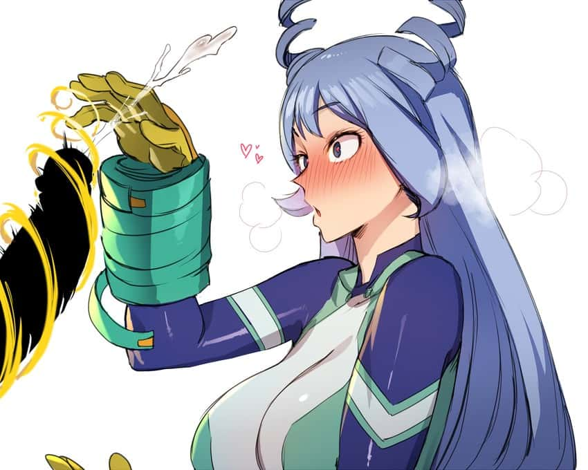 hadou nejire boku no hero academia56 - 【僕のヒーローアカデミア】波動ねじれちゃんのエロ画像:イラスト その2
