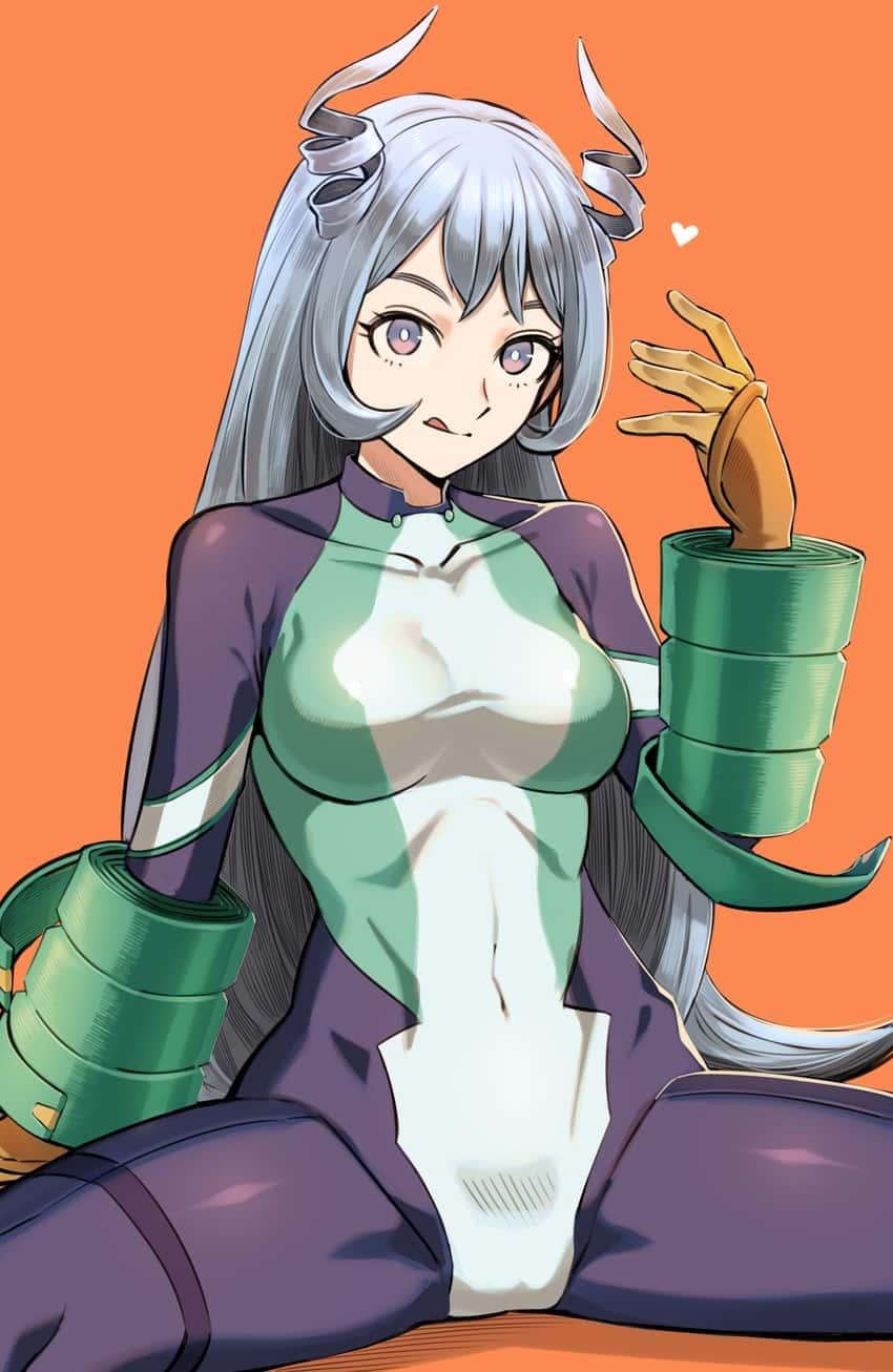 hadou nejire boku no hero academia61 - 【僕のヒーローアカデミア】波動ねじれちゃんのエロ画像:イラスト その2