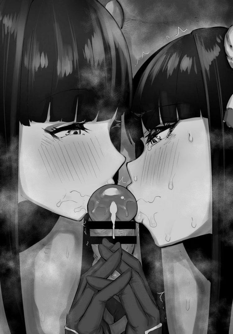 hinoa and minoto monster hunter1 1 - 【モンスターハンターライズ】ヒノエとミノトのエロ画像:イラスト