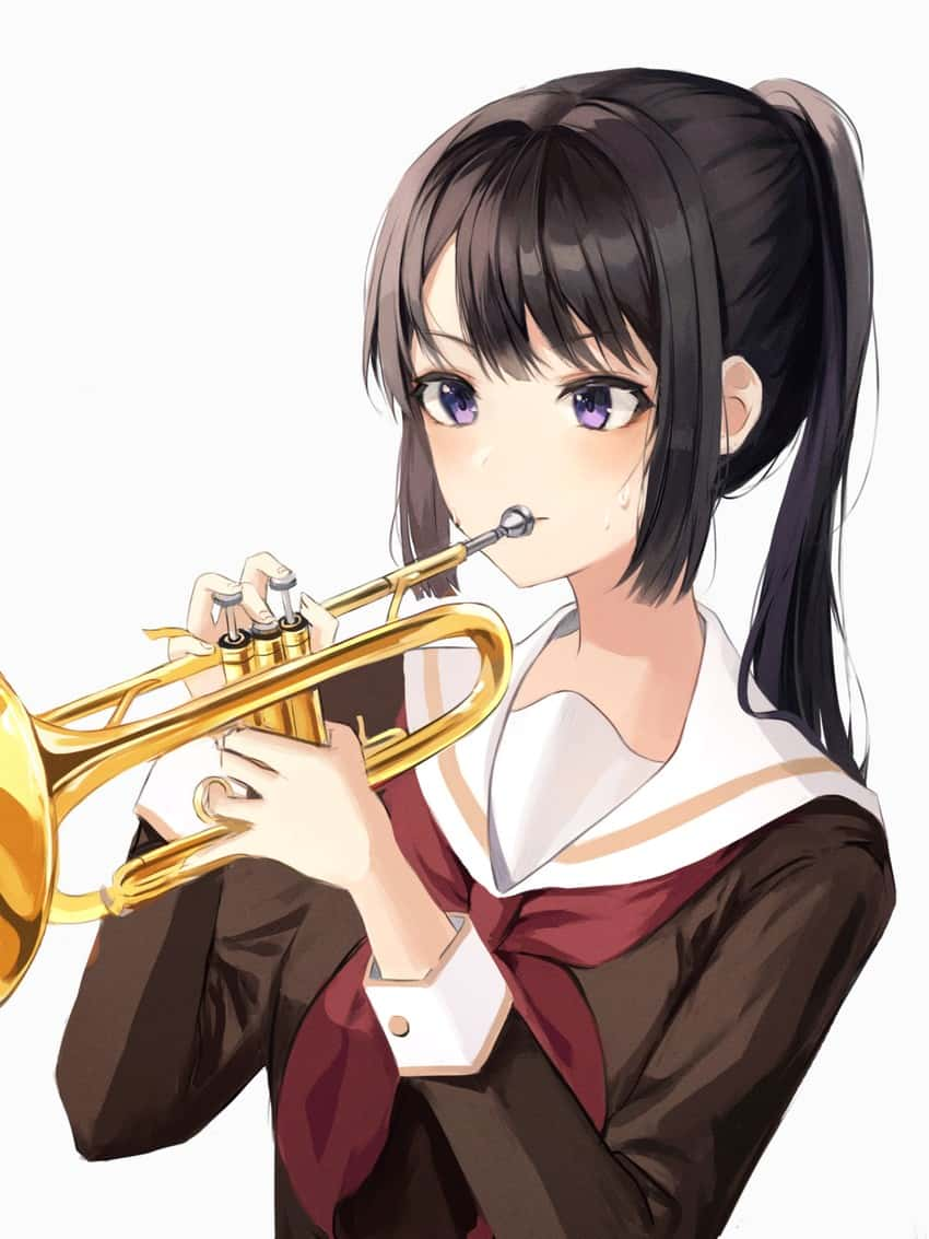 kousaka reina hibike euphonium64 - 【響け!ユーフォニアム】高坂麗奈(こうさかれいな)のエロ画像:イラスト その2