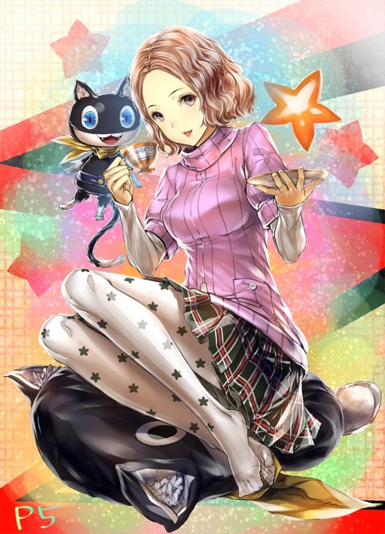 okumura haru persona41 - 【ペルソナ5】奥村春(おくむらはる)のエロ画像:イラスト