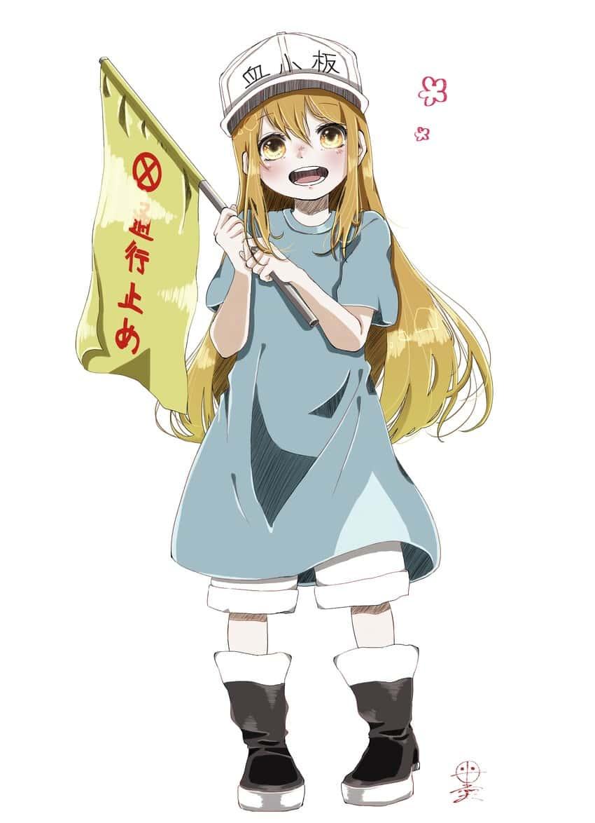 platelet hataraku saibou157 - 【はたらく細胞BLACK】血小板ちゃんのエロ画像:イラスト その5