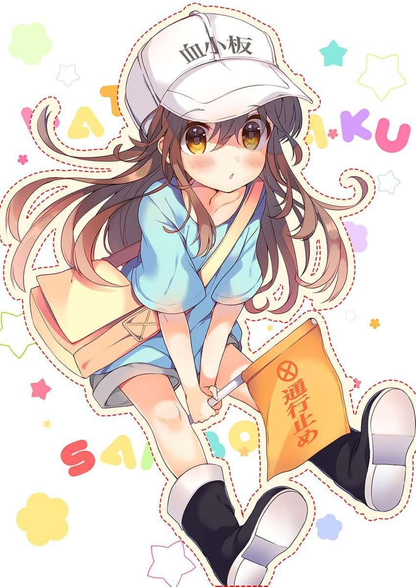 platelet hataraku saibou165 - 【はたらく細胞BLACK】血小板ちゃんのエロ画像:イラスト その5