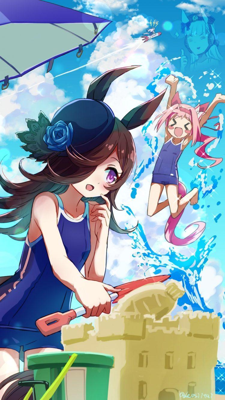 rice shower umamusume14 - 【ウマ娘】ライスシャワーちゃんのエロ画像:イラスト