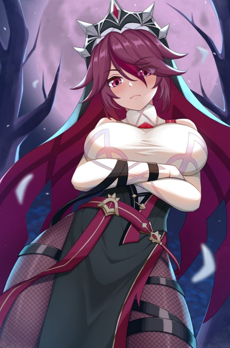 rosaria genshin impact a20 - 【原神】ロサリアちゃんのエロ画像:イラスト