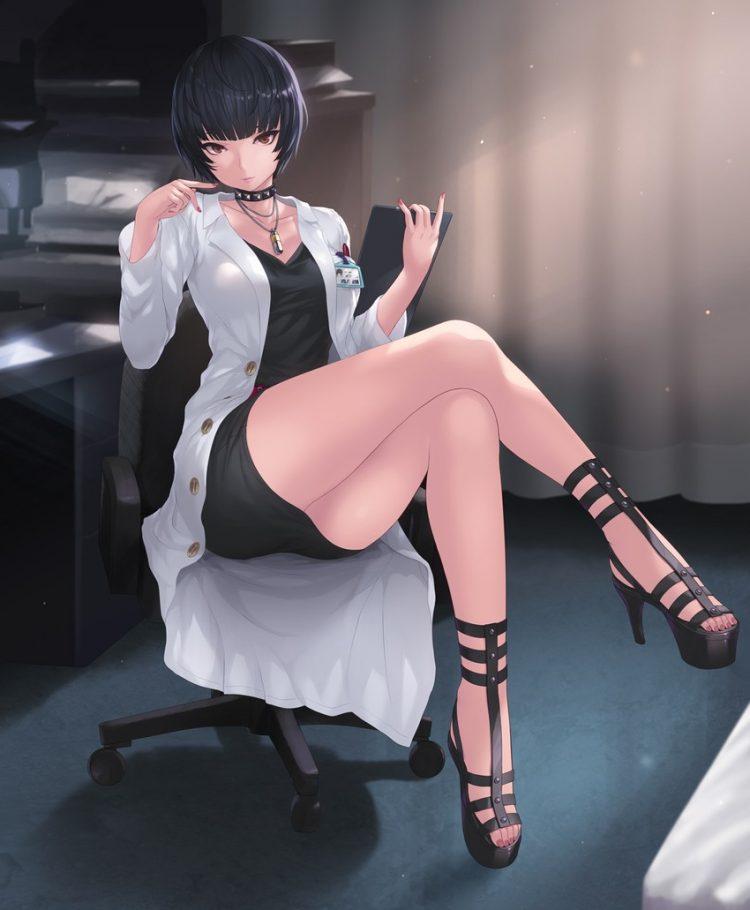 takemi tae persona46 - 【ペルソナ5】武見妙(たけみたえ)のエロ画像:イラスト