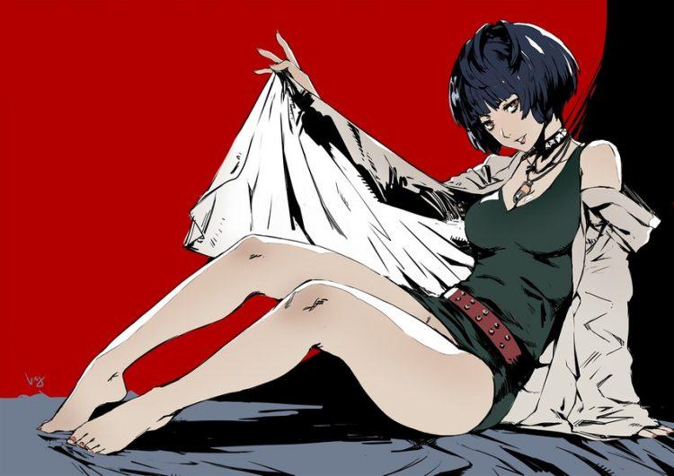 takemi tae persona56 - 【ペルソナ5】武見妙(たけみたえ)のエロ画像:イラスト その2