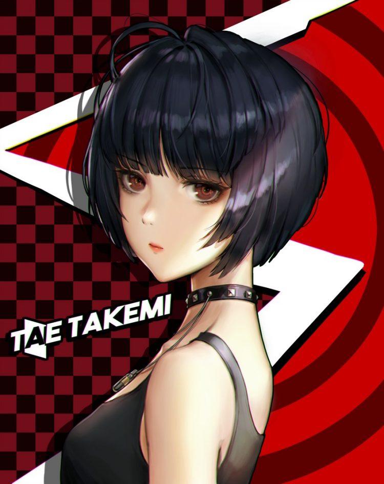 takemi tae persona87 - 【ペルソナ5】武見妙(たけみたえ)のエロ画像:イラスト その3