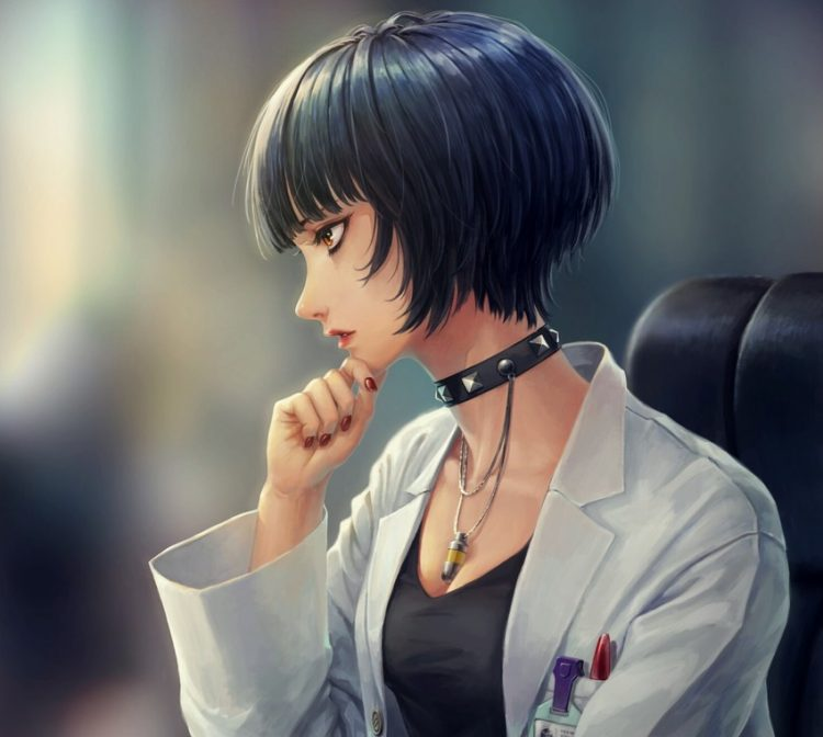 takemi tae persona99 - 【ペルソナ5】武見妙(たけみたえ)のエロ画像:イラスト その3