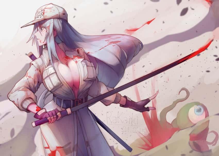 white blood cell and u 1196 hataraku saibou82 - 【はたらく細胞BLACK】白血球さんのエロ画像:イラスト その3
