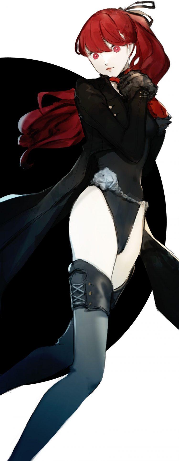 yoshizawa kasumi persona125 - 【ペルソナ5ザ・ロイヤル】芳澤かすみちゃんのエロ画像:イラスト その4