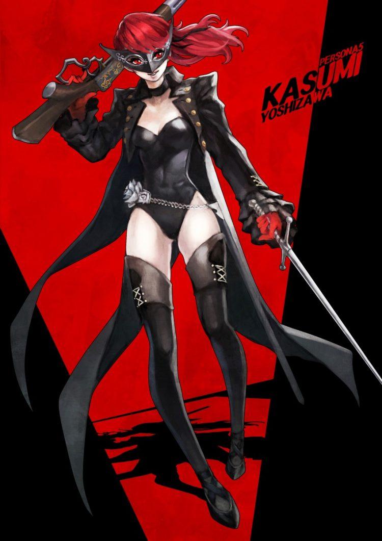 yoshizawa kasumi persona151 - 【ペルソナ5ザ・ロイヤル】芳澤かすみちゃんのエロ画像:イラスト その4