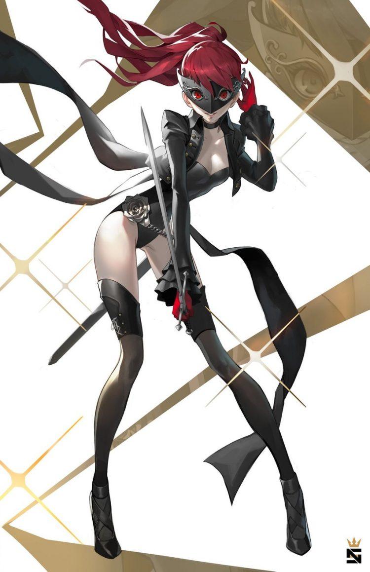yoshizawa kasumi persona176 - 【ペルソナ5ザ・ロイヤル】芳澤かすみちゃんのエロ画像:イラスト その5