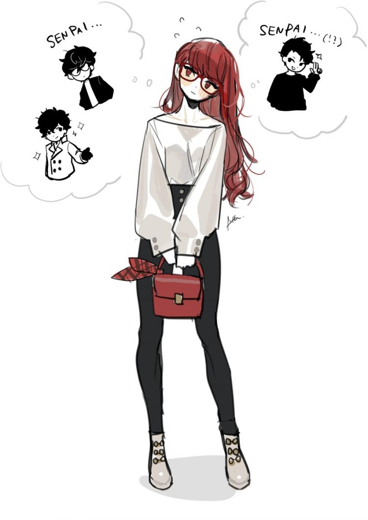 yoshizawa kasumi persona2 - 【ペルソナ5ザ・ロイヤル】芳澤かすみちゃんのエロ画像:イラスト