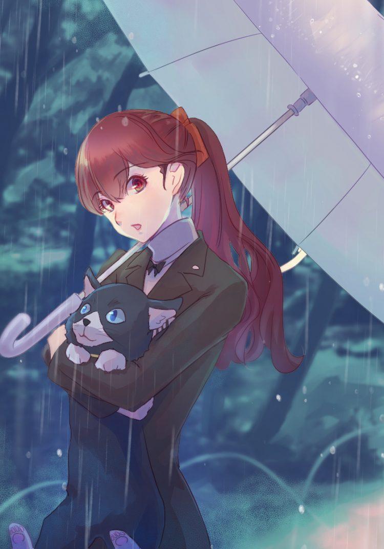 yoshizawa kasumi persona29 - 【ペルソナ5ザ・ロイヤル】芳澤かすみちゃんのエロ画像:イラスト