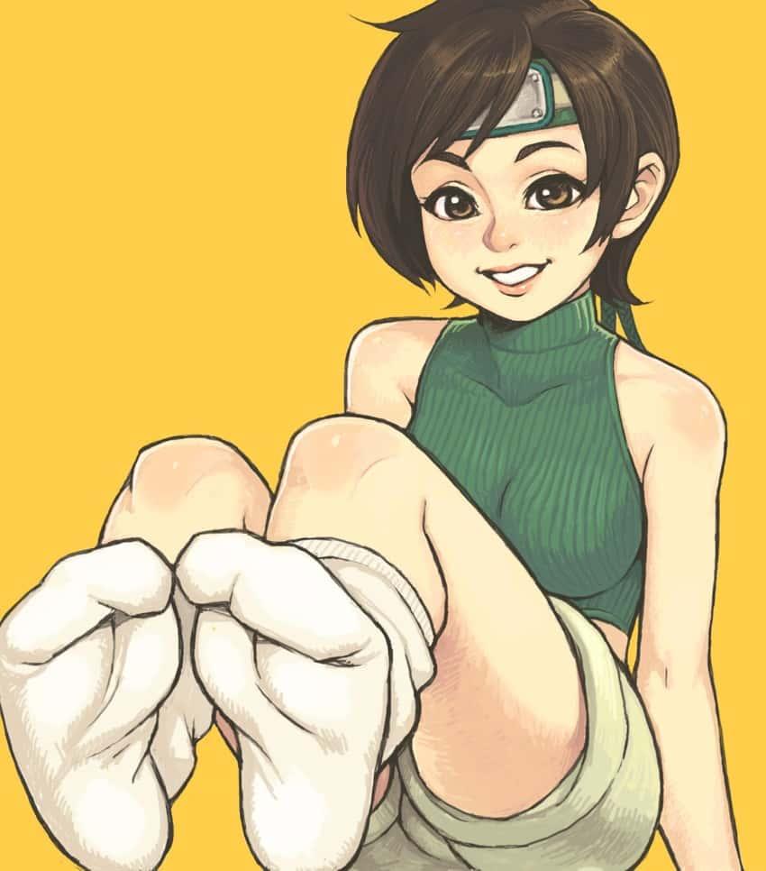 yuffie kisaragi final fantasy170 - 【ファイナルファンタジー7】ユフィ・キサラギのエロ画像:イラスト その5