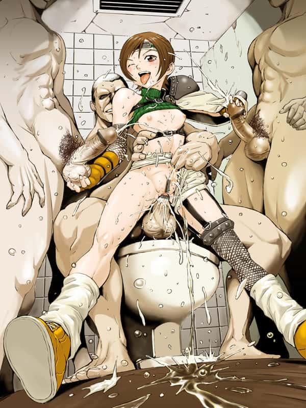 yuffie kisaragi final fantasy238 - 【ファイナルファンタジー7】ユフィ・キサラギのエロ画像:イラスト その7