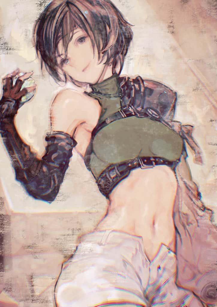 yuffie kisaragi final fantasy297 - 【ファイナルファンタジー7】ユフィ・キサラギのエロ画像:イラスト その10