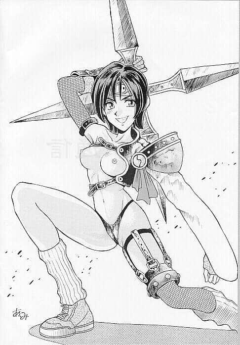 yuffie kisaragi final fantasy57 - 【ファイナルファンタジー7】ユフィ・キサラギのエロ画像:イラスト その2