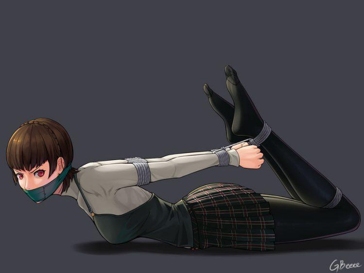 niijima makoto persona108 - 【ペルソナ5】新島真(にいじままこと)のエロ画像:イラスト その3