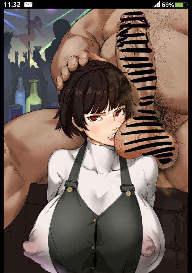 niijima makoto persona159 - 【ペルソナ5】新島真(にいじままこと)のエロ画像:イラスト その5