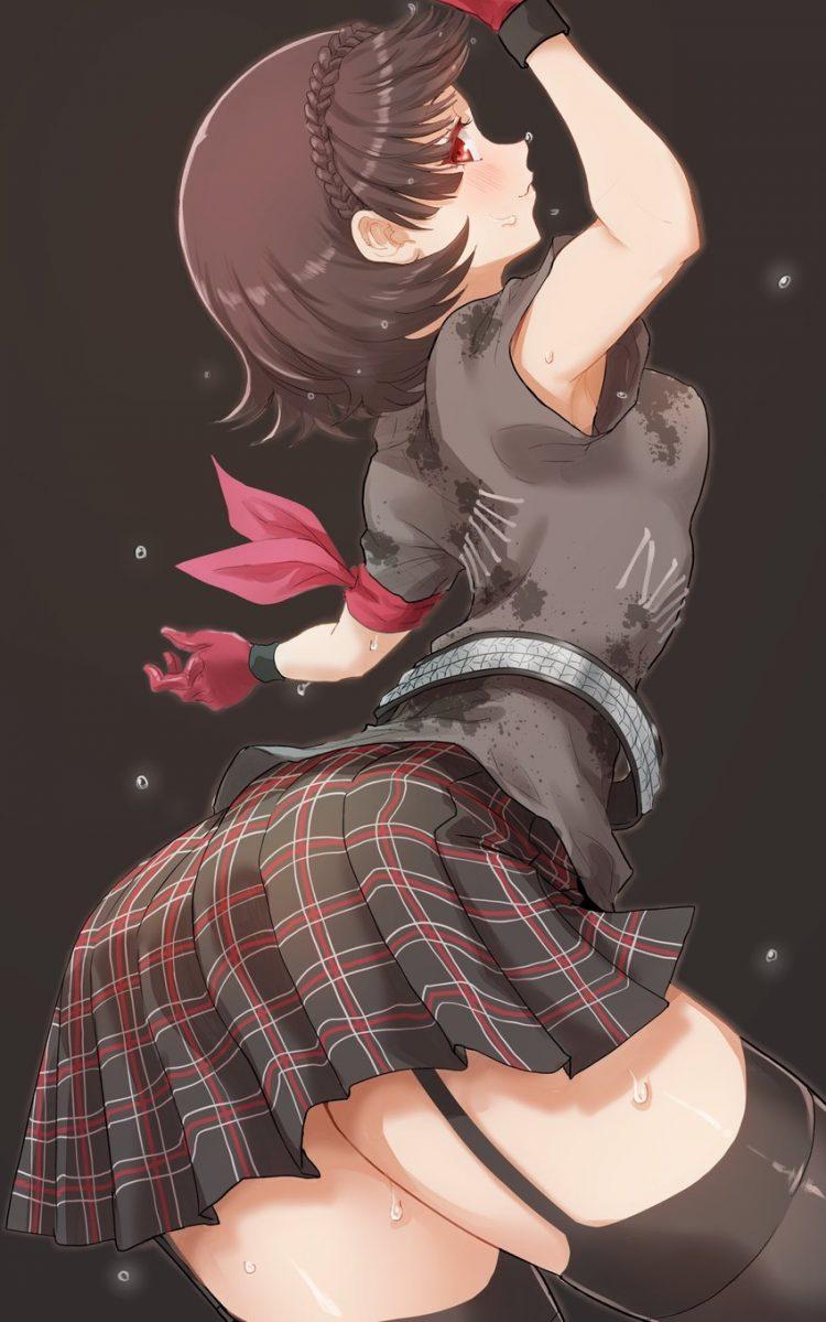 niijima makoto persona295 - 【ペルソナ5】新島真(にいじままこと)のエロ画像:イラスト その8