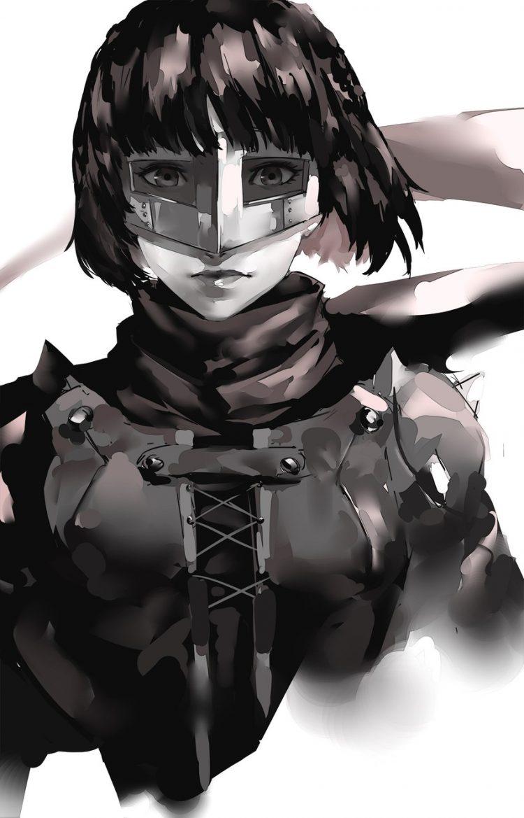 niijima makoto persona78 - 【ペルソナ5】新島真(にいじままこと)のエロ画像:イラスト その2