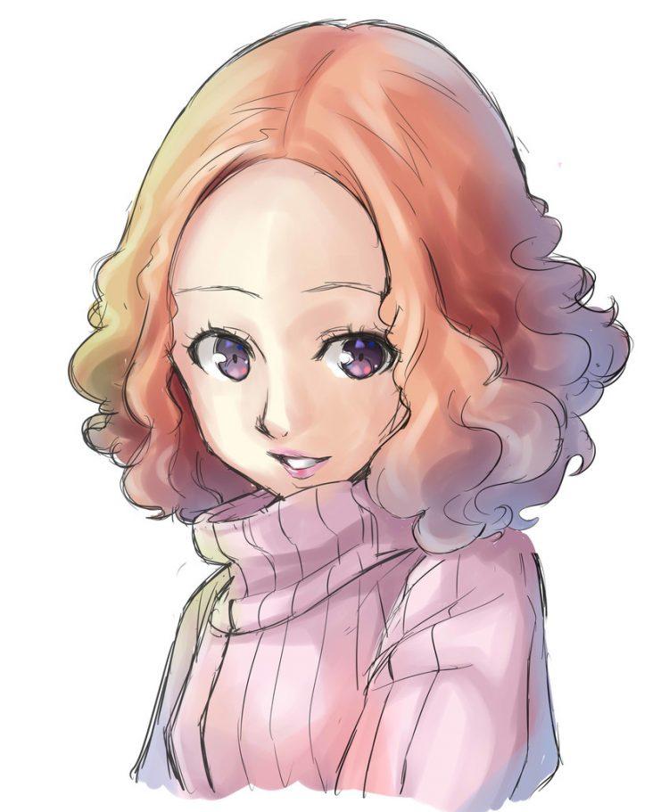 okumura haru persona127 - 【ペルソナ5】奥村春(おくむらはる)のエロ画像:イラスト その4