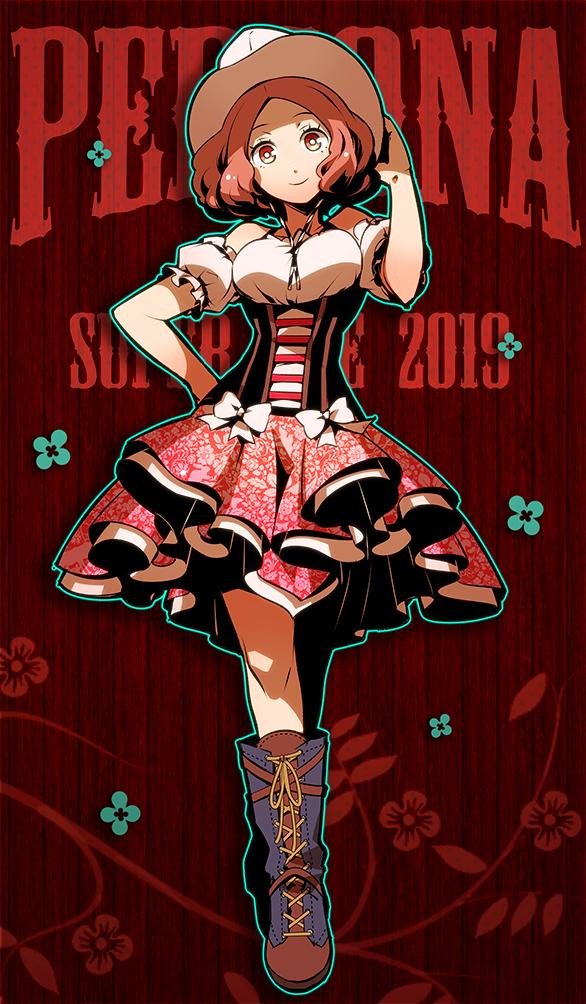 okumura haru persona154 - 【ペルソナ5】奥村春(おくむらはる)のエロ画像:イラスト その4
