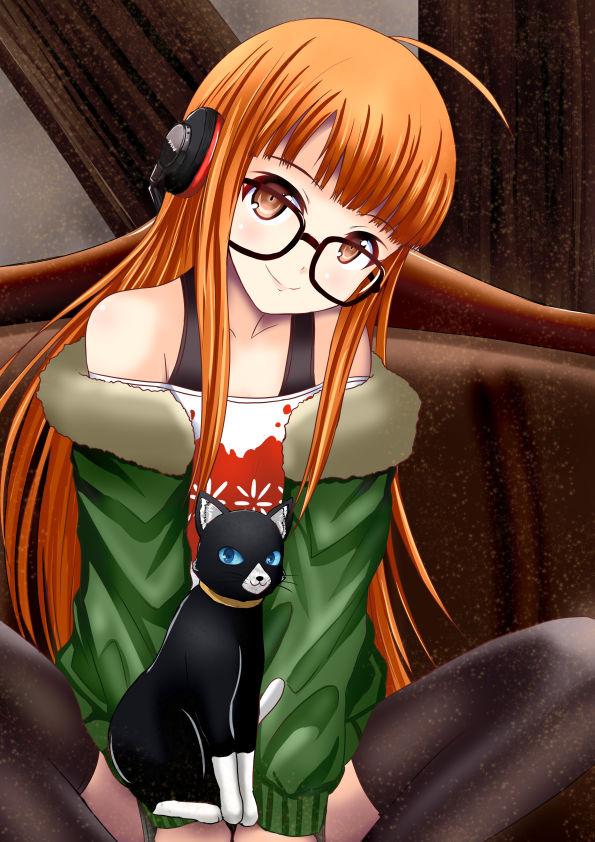sakura futaba persona38 - 【ペルソナ5】佐倉双葉(さくらふたば)のエロ画像:イラスト