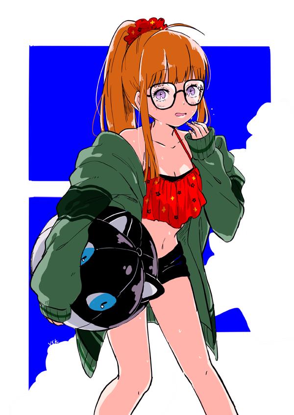 sakura futaba persona48 - 【ペルソナ5】佐倉双葉(さくらふたば)のエロ画像:イラスト