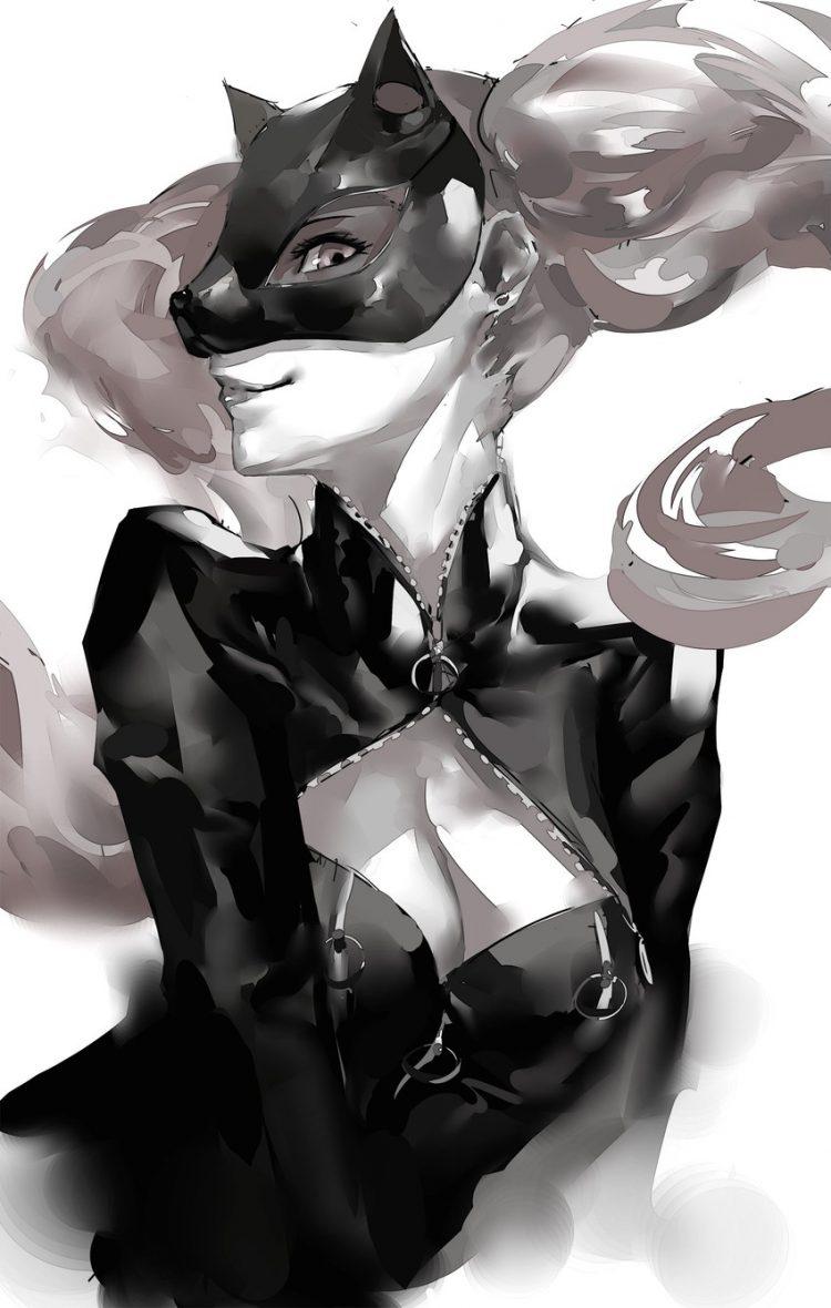 takamaki anne persona131 - 【ペルソナ5】高巻杏(たかまきあん)のエロ画像:イラスト その4