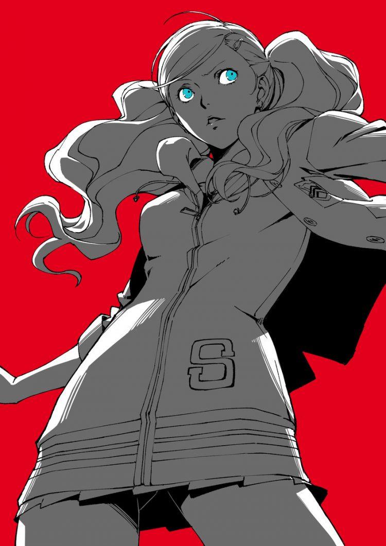 takamaki anne persona195 - 【ペルソナ5】高巻杏(たかまきあん)のエロ画像:イラスト その5