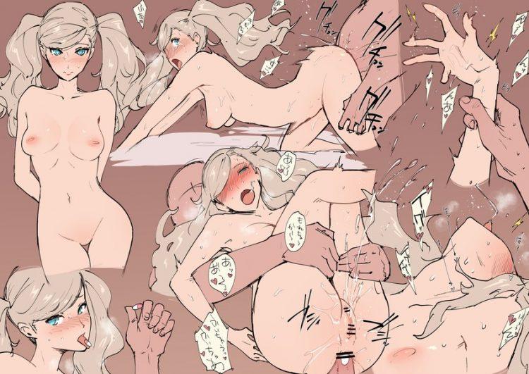 takamaki anne persona382 - 【ペルソナ5】高巻杏(たかまきあん)のエロ画像:イラスト その11