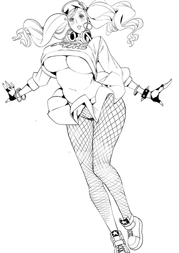 takamaki anne persona419 - 【ペルソナ5】高巻杏(たかまきあん)のエロ画像:イラスト その12