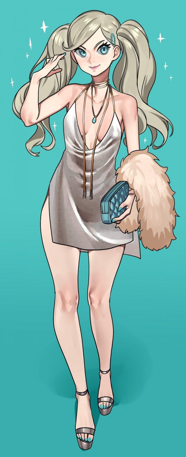 takamaki anne persona61 - 【ペルソナ5】高巻杏(たかまきあん)のエロ画像:イラスト その2