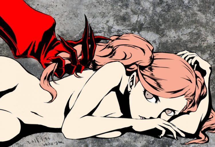 takamaki anne persona63 - 【ペルソナ5】高巻杏(たかまきあん)のエロ画像:イラスト その2